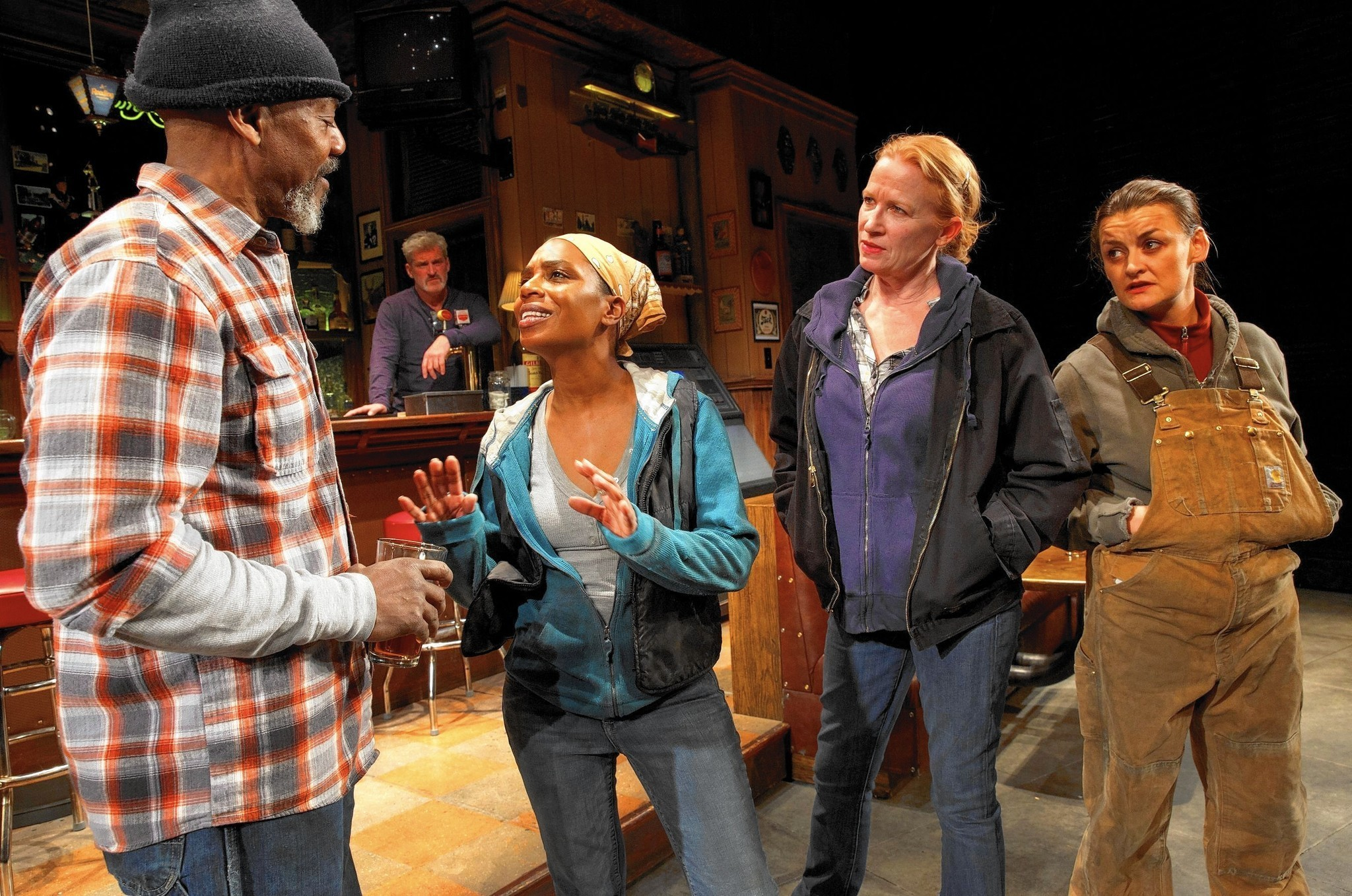 0106a17525  Sweat  is Lynn Nottage s new Broadway play about working-class  frustrations - Chicago Tribune