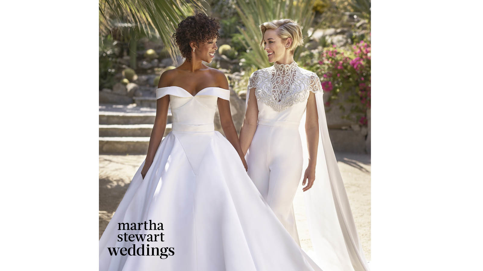 Martha Stewart Weddings: Samira Wiley Marries 'Orange Is The New Black' Writer