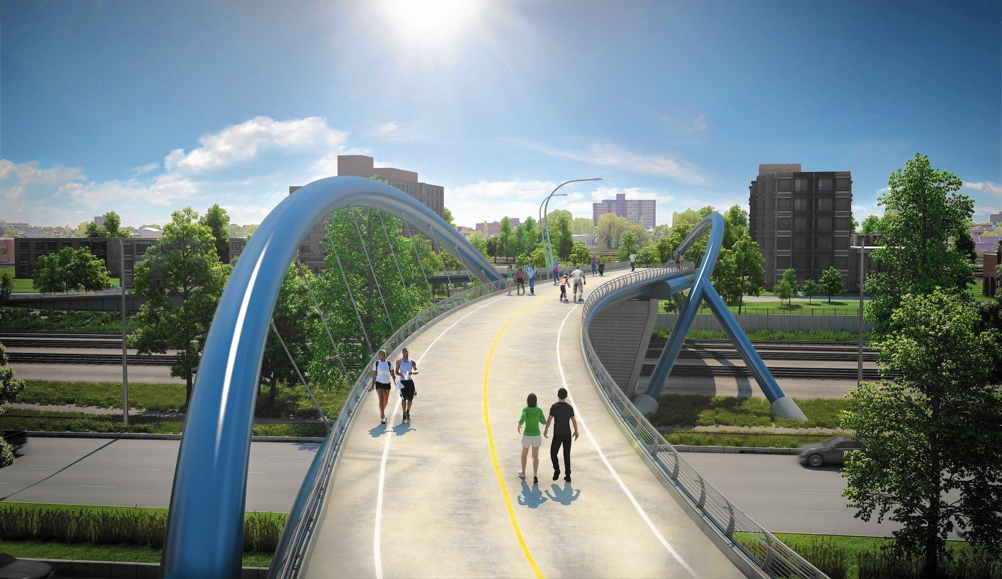 City To Proceed With 41st Street Pedestrian Bridge Project
