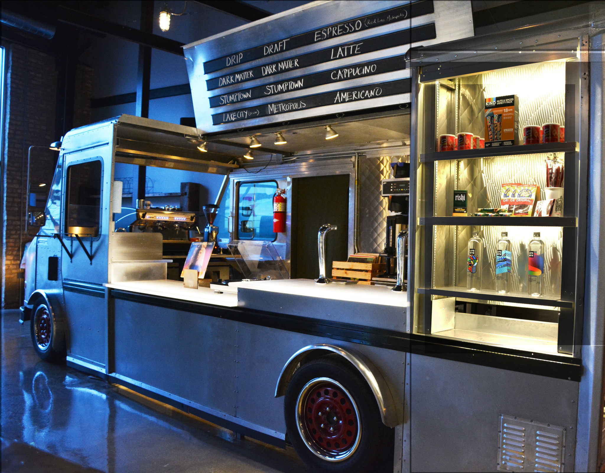 Dmk Opens Its First Coffee Shop Werewolf Coffee Bar