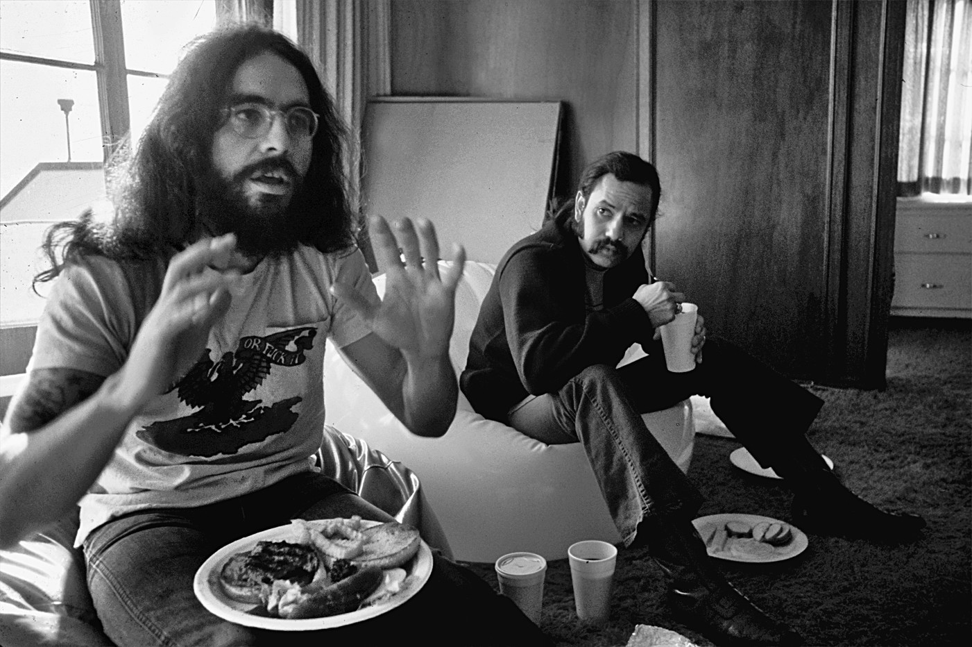 Cheech Marin, right, with Tommy Chong, in the 1970s.