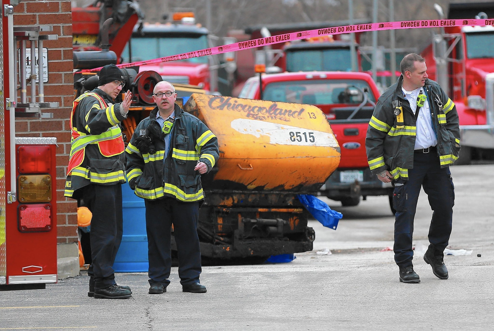 Man Killed In Accident At Lake Zurich Paving Business