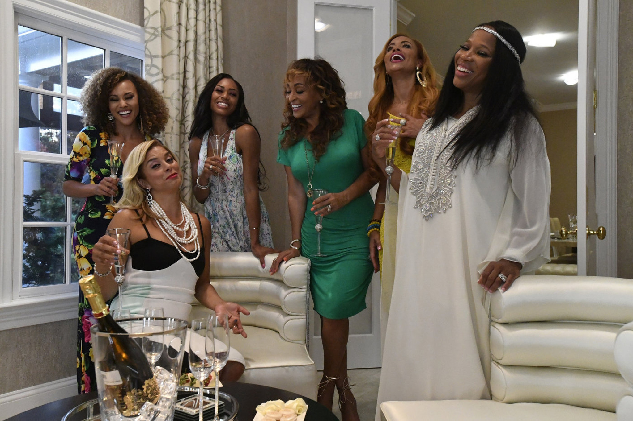 Real Housewives Of Potomac Recap Birthdays And Babies Baltimore Sun