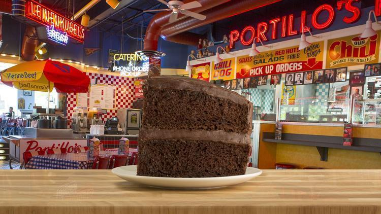 Portillo S Offering Chocolate Cake For 54 Cents Chicago