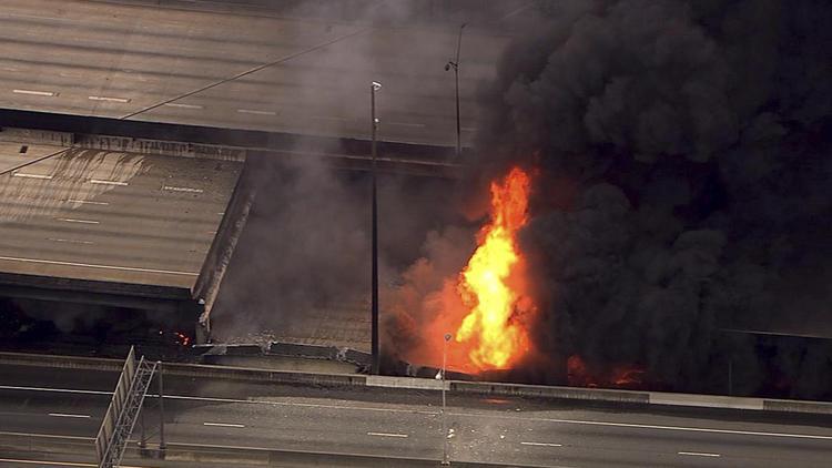 Atlanta overpass collapse