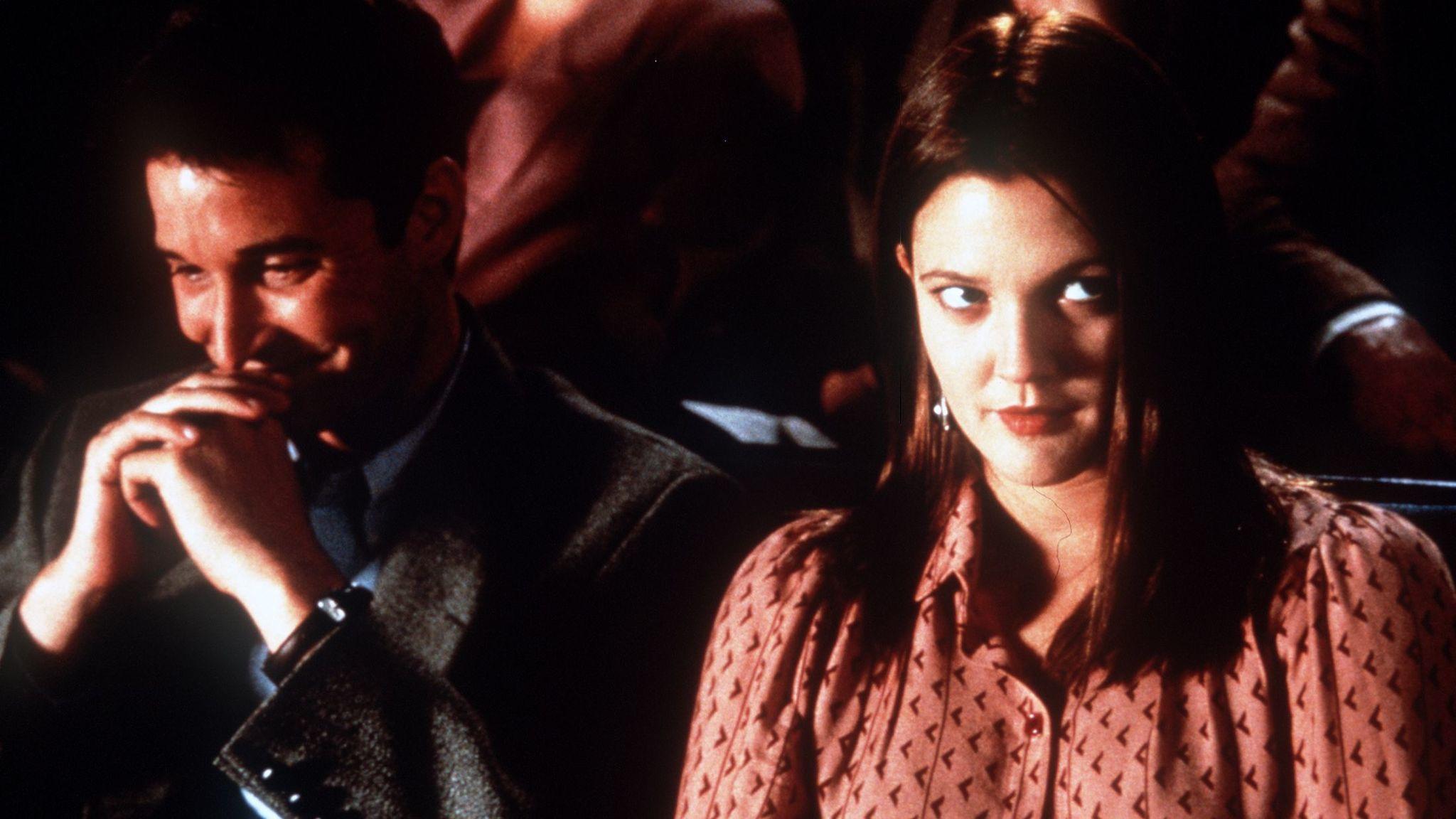 "Noah Wyle and Drew Barrymore in ""Donnie Darko."""