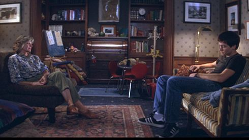 "Katherine Ross and Jake Gyllenhaal in ""Donnie Darko."""
