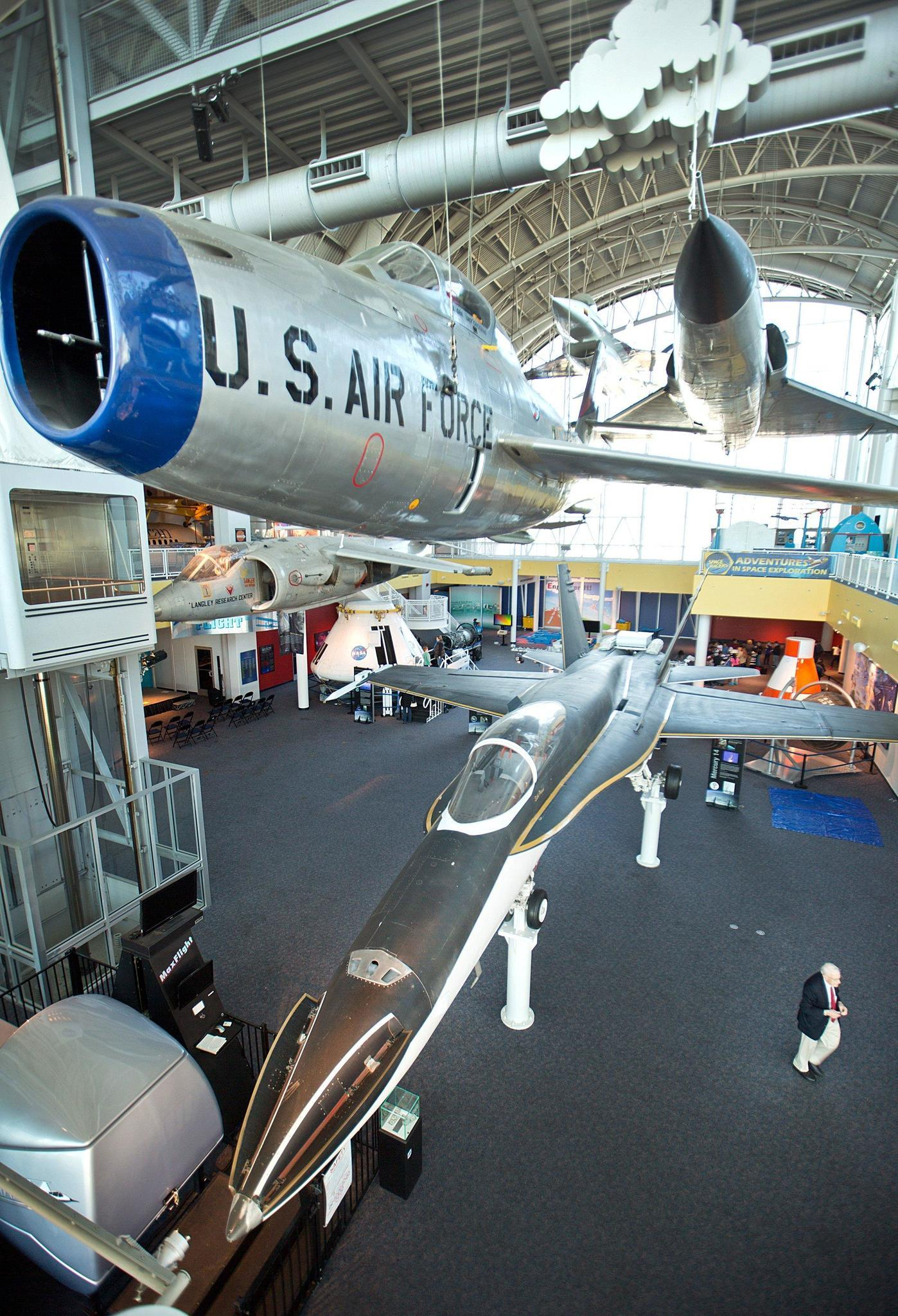 Virginia Air and Space Center turns 25 - Daily Press