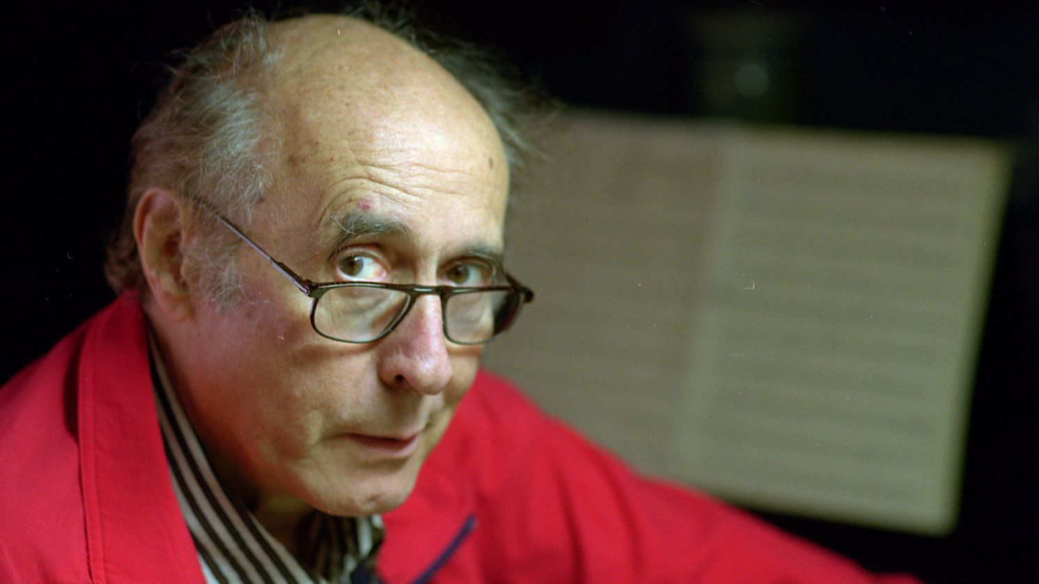 Henry Mancini, photographed at home in 1994.