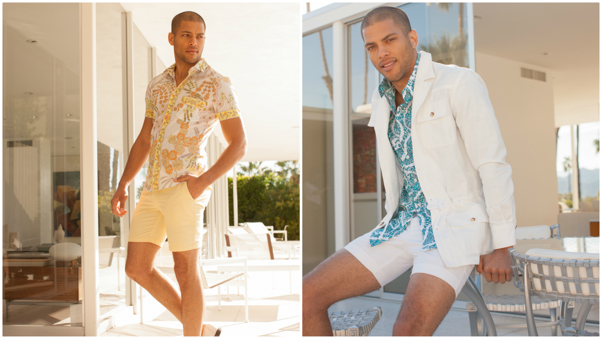 A look at clothes from the Mr Turk summer 2017 collection.