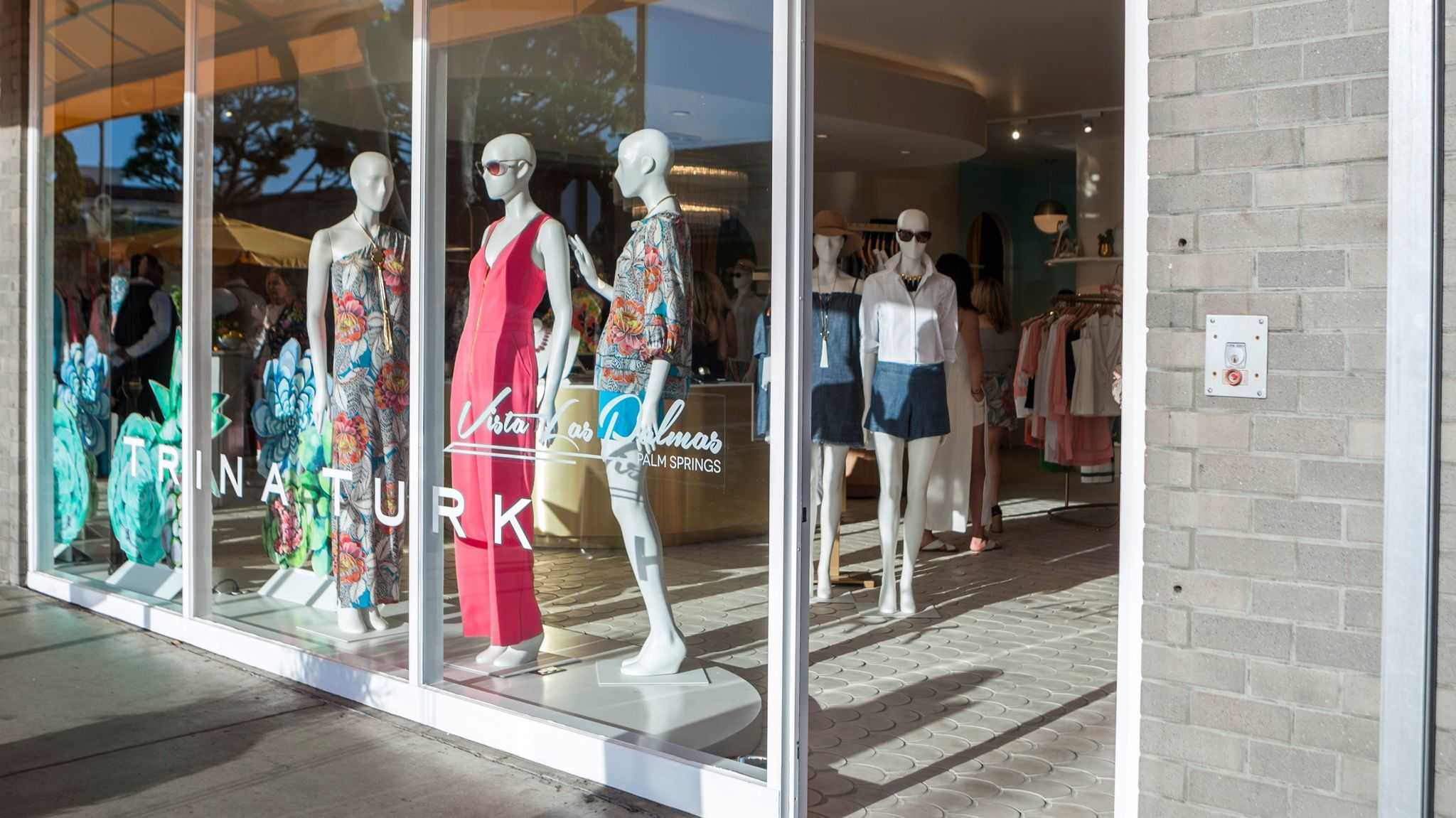 A look at the new Trina Turk store in Larchmont Village. The space is also home to Mr Turk men's selections.
