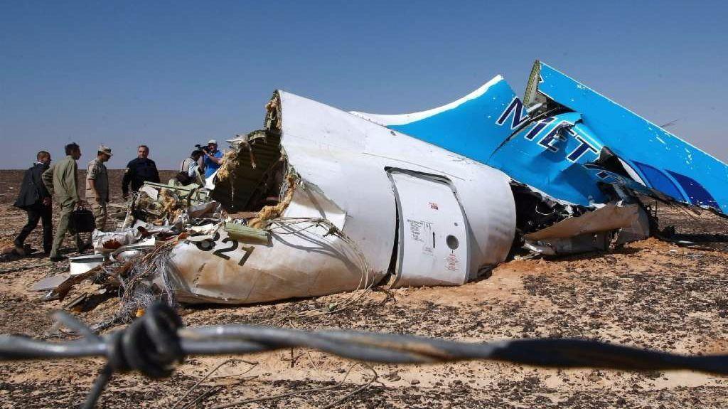 Metrojet Flight 9268 crashed en route from Sharm el Sheik to St. Petersburg, killing all 224 people on board.