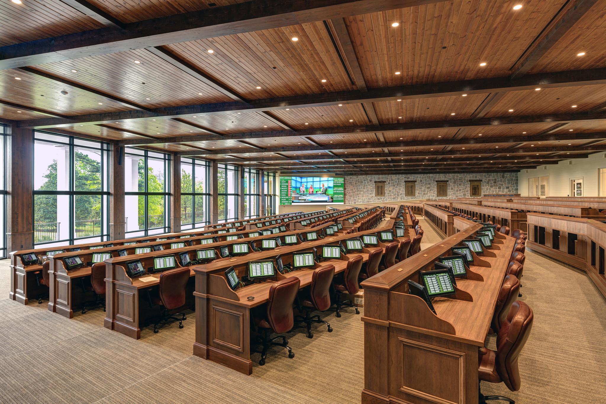 masters lavish new press building emblematic of augusta