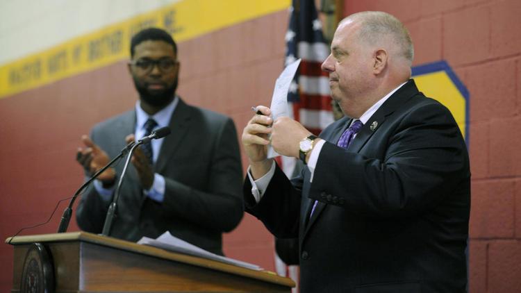 Hogan vetoes bill limiting Maryland school reforms