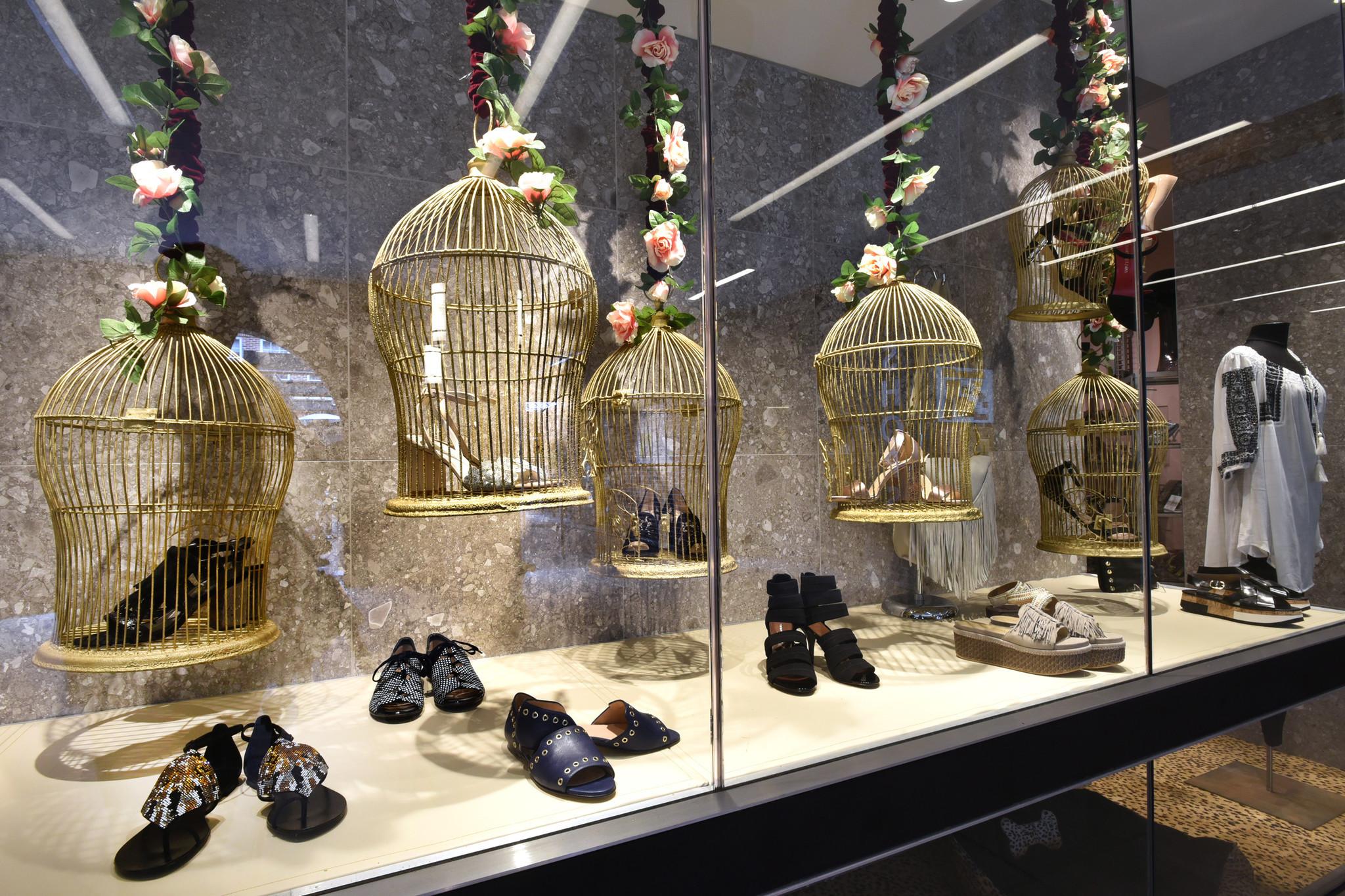 cc02fd88790 Best Window Displays Matava Shoes Baltimore Sun
