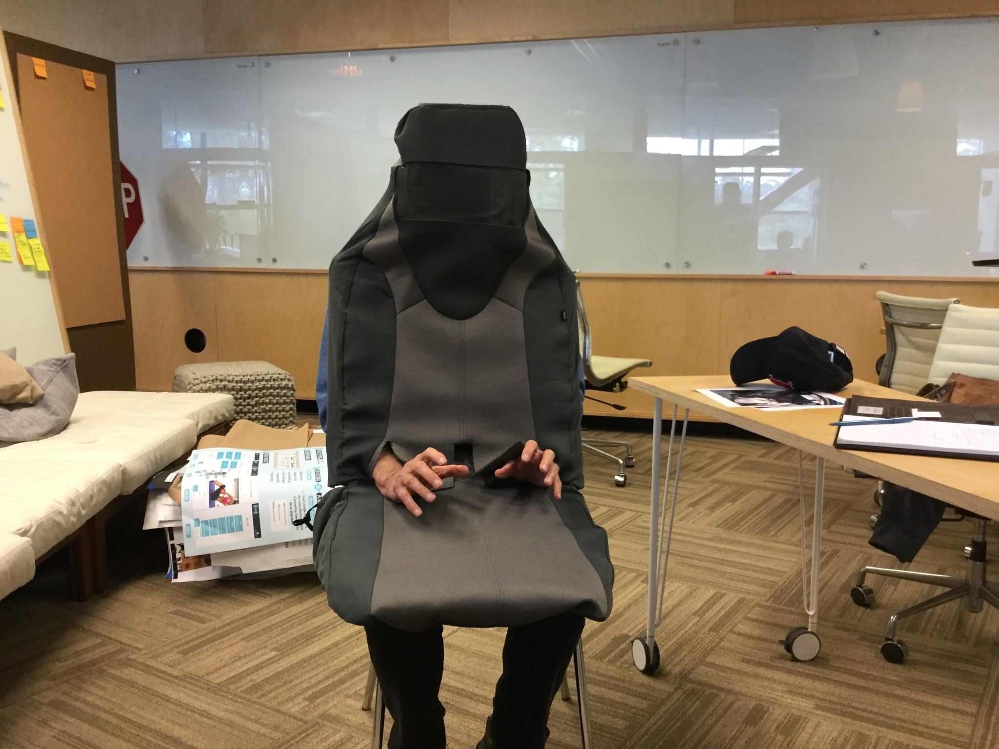 Why Are Ucsd Scientists Disguising Themselves As Empty Car Seats The San Go Union Tribune