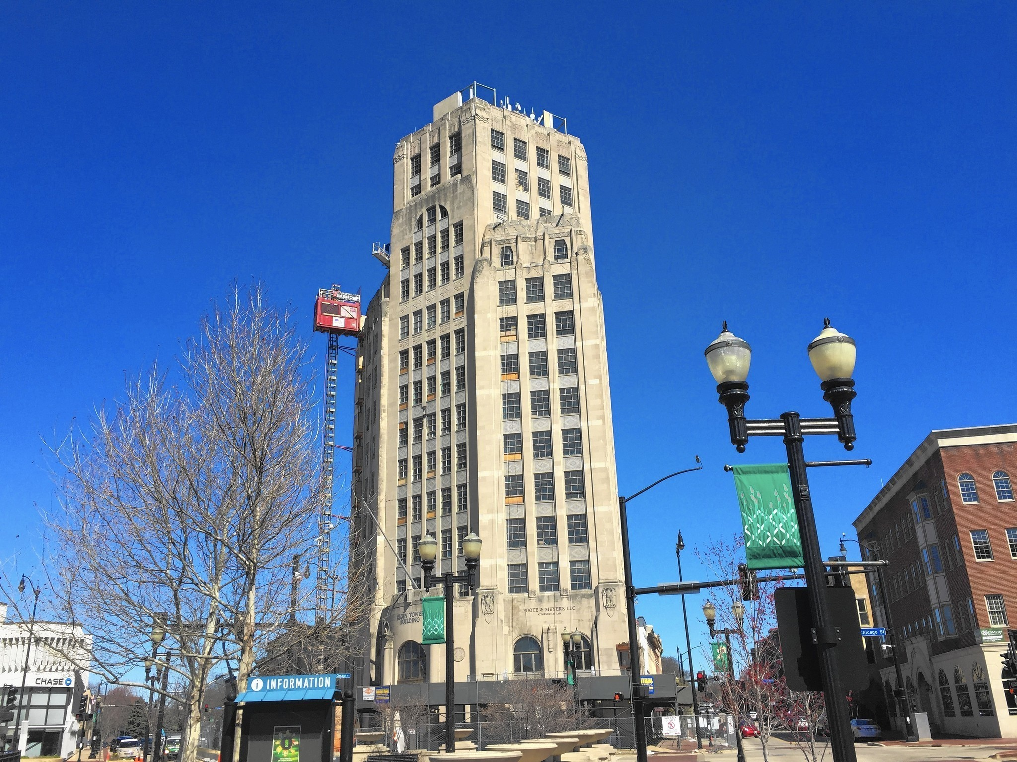 Elgin Tower Building Set To Reopen This Fall Elgin
