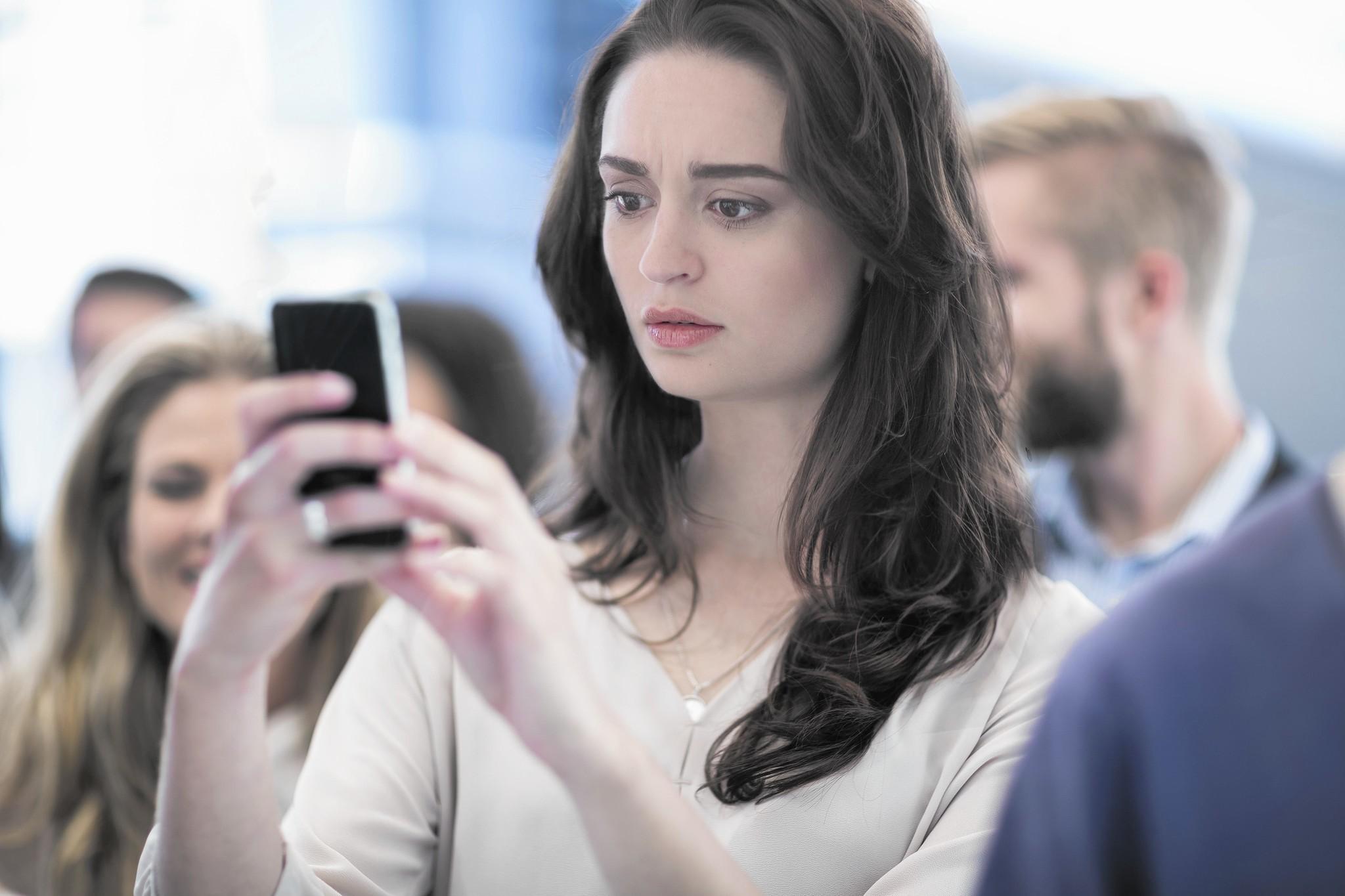 Partner sexting someone else