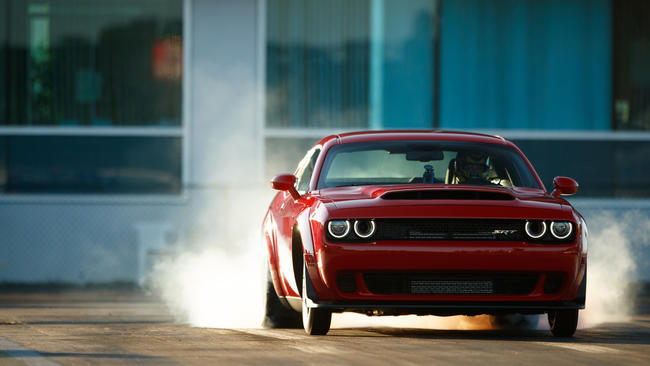 Dodge Unveils 840 Horsepower Demon The Fastest Production Car In