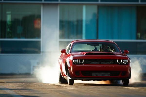 Dodge Unveils 840 Horsepower Demon The Fastest Production Car In