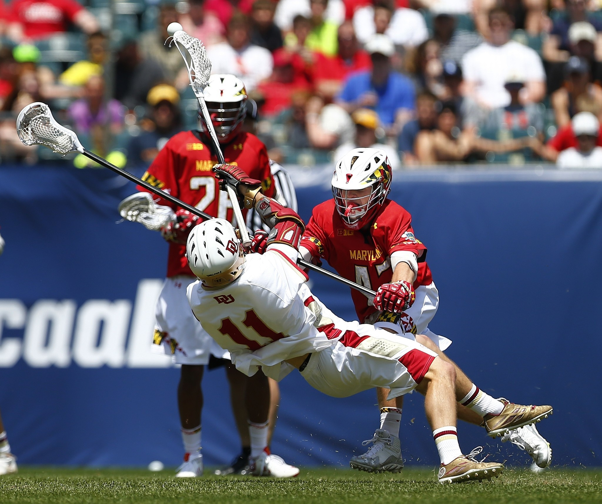 Maryland Men's Lacrosse Welcomed Back Defenseman Mac Pons