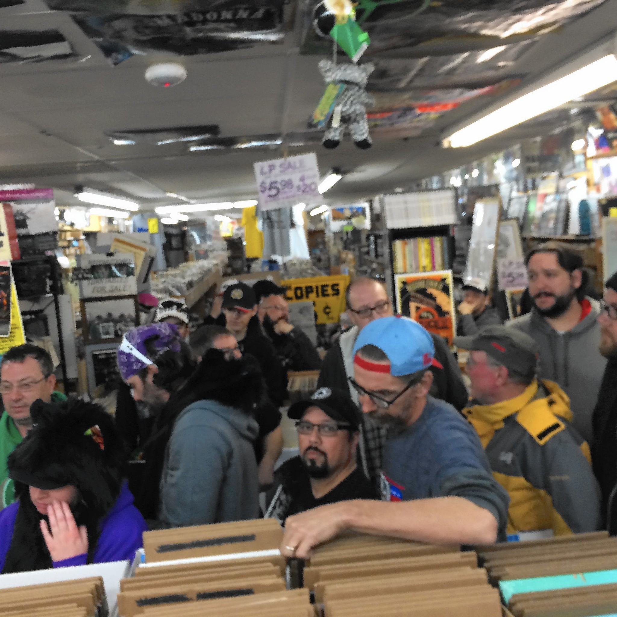 Vinyl Shop Owners Pump Up The Specials For Record Store
