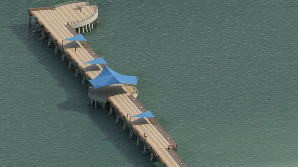 Pompano Beach Pier To Be Razed This Year Make Way For New One Sun Sentinel
