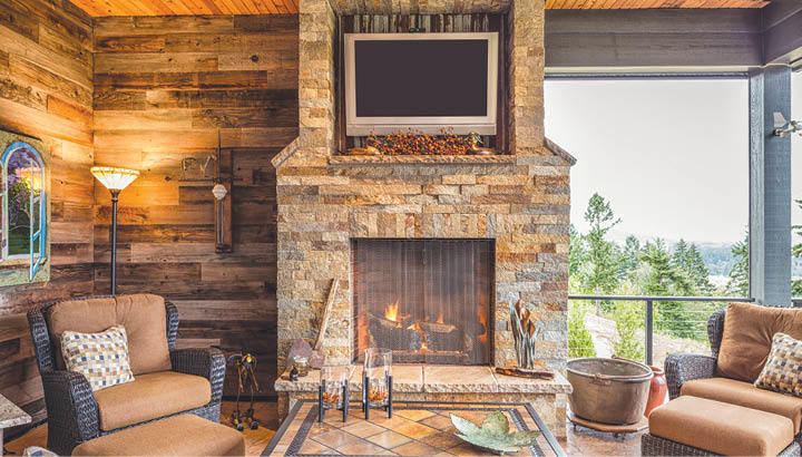 Fire Ice Update Your Fireplace With Simple Projects The Morning Call