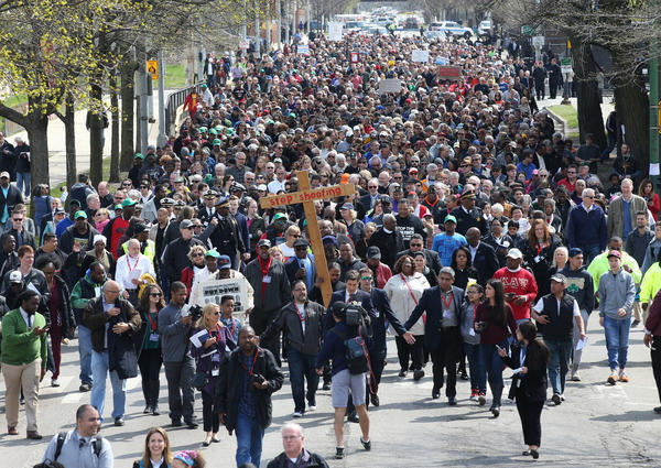 On Good Friday, a peaceful march remembers victims of ...March For Peace Chicago