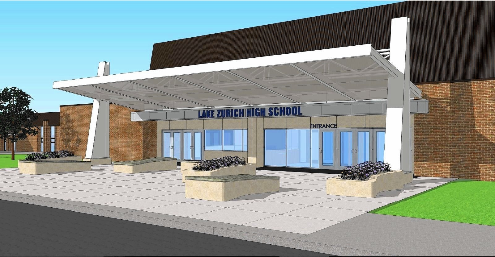 District 95 board approves new secure entrance at Lake