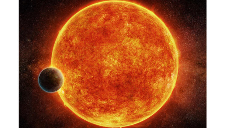 The newly discovered planet is located in the habitable zone surrounding its host star. The planet h