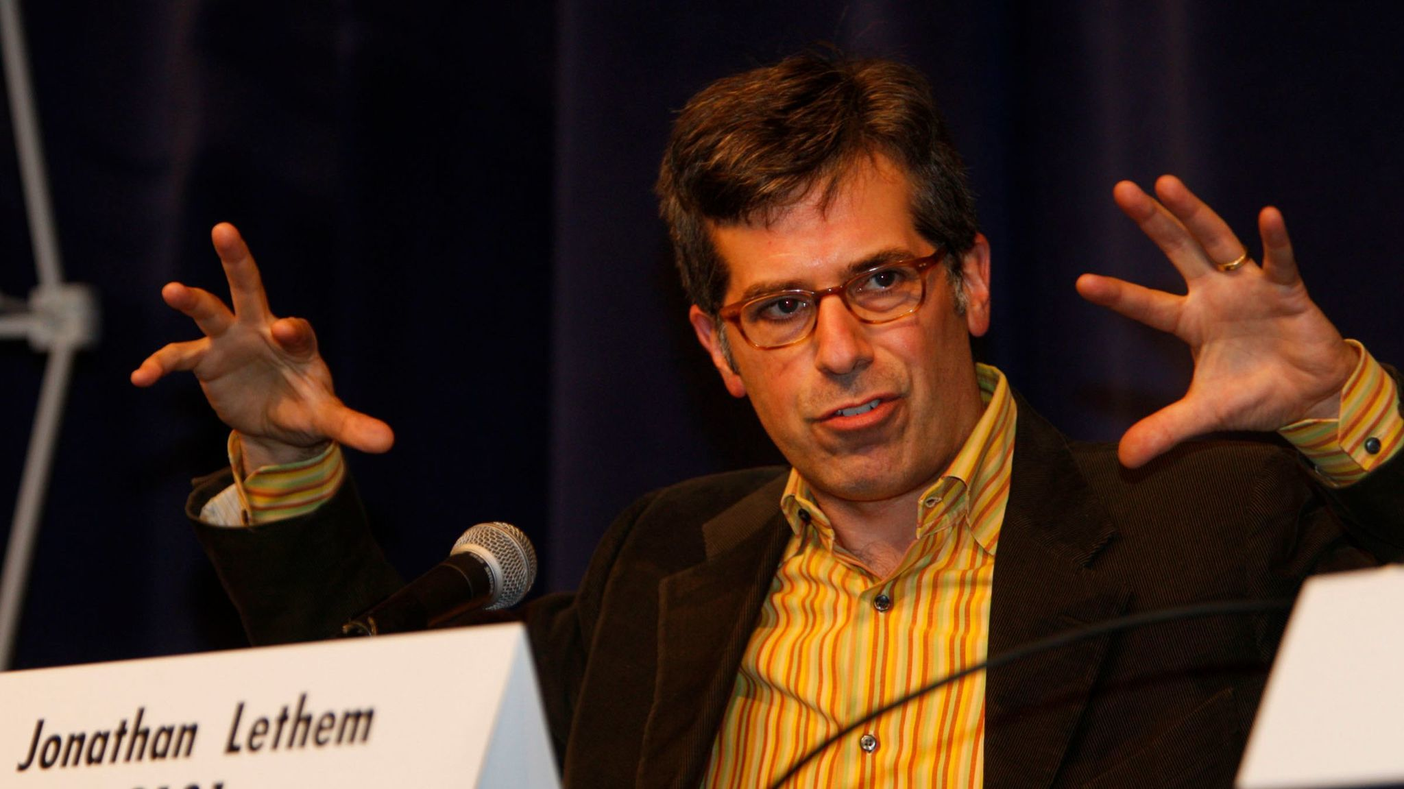 Jonathan Lethem at the Festival of Books in 2011.