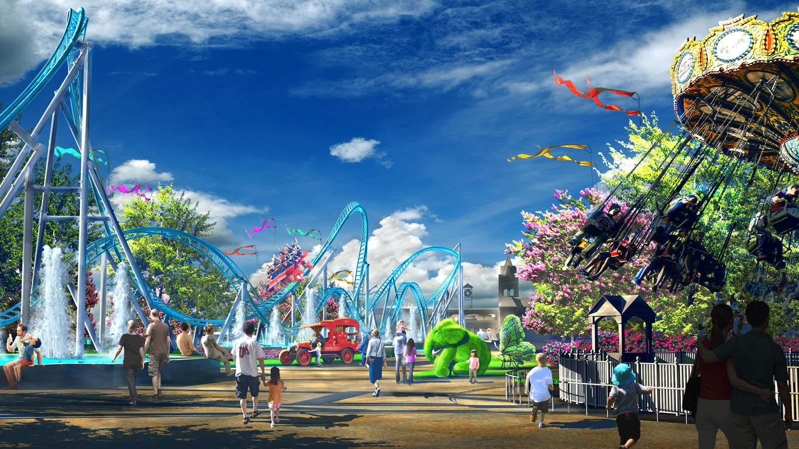 Alabama theme park fills a void for Southern thrill ...