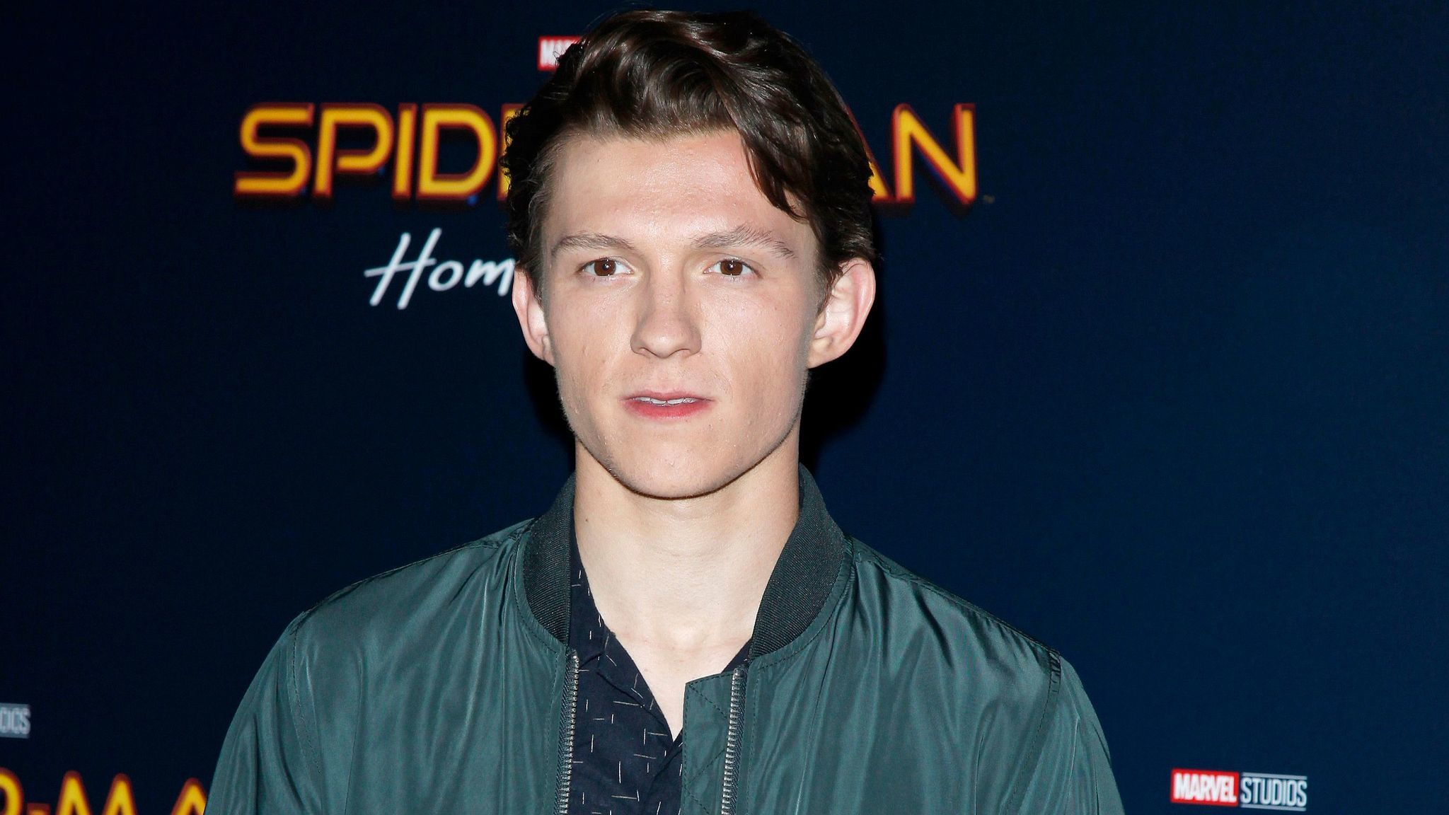 """Tom Holland, who stars in the forthcoming """"Spider-Man: Homecoming,"""" appears backstage at the Sony Pictures Entertainment presentation at CinemaCon 2017 last month at Caesars Palace in Las Vegas."""