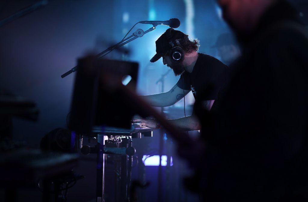Bon Iver performs at Coachella