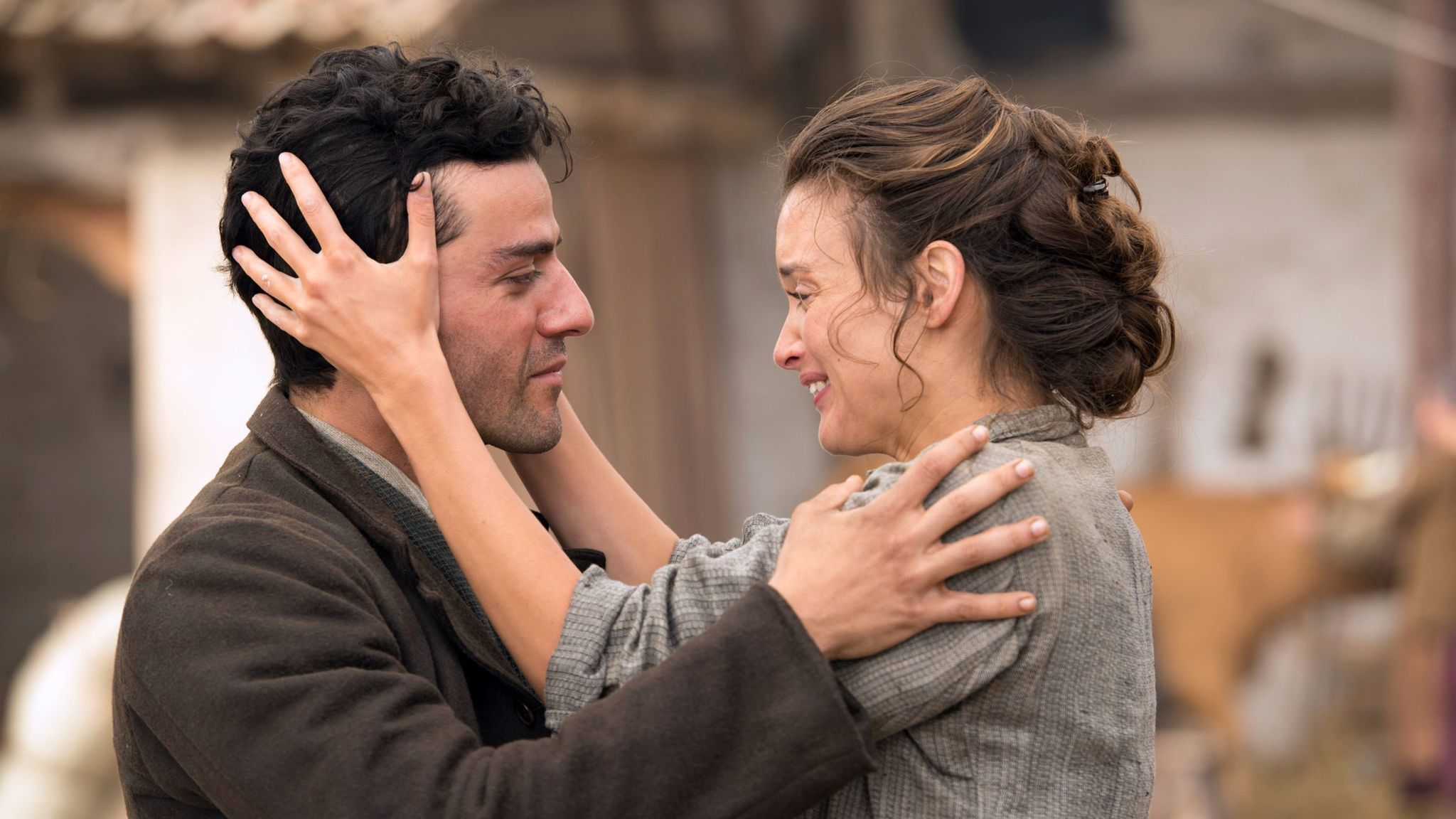 """Oscar Isaac and Charlotte Le Bon in """"The Promise."""""""