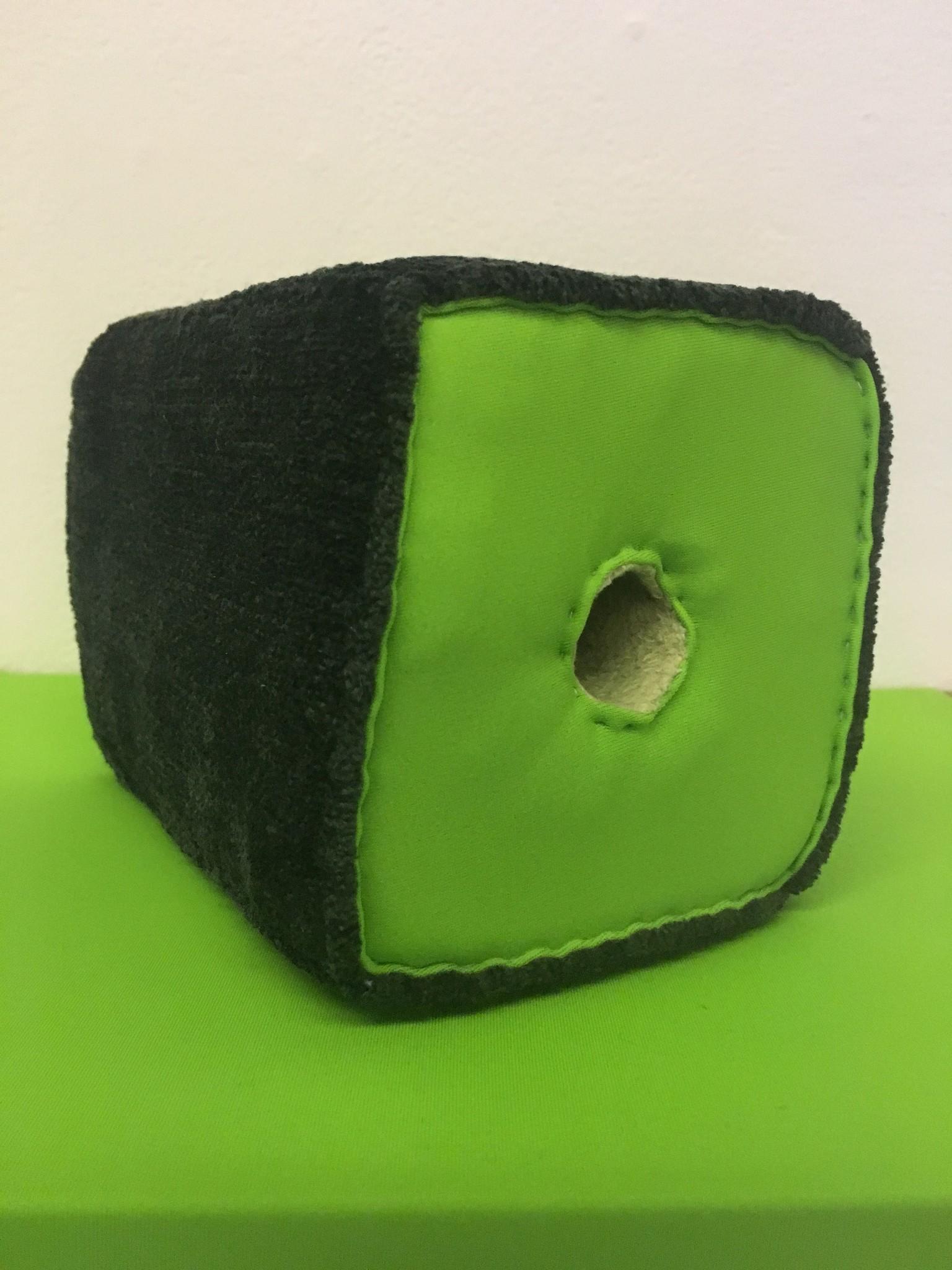 "Liz Nurenberg, ""Untitled Poke 1,"" 2015, foam and fabric,"
