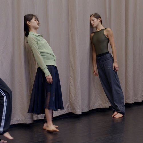 """A still from """"In the Steps of Trisha Brown."""""""