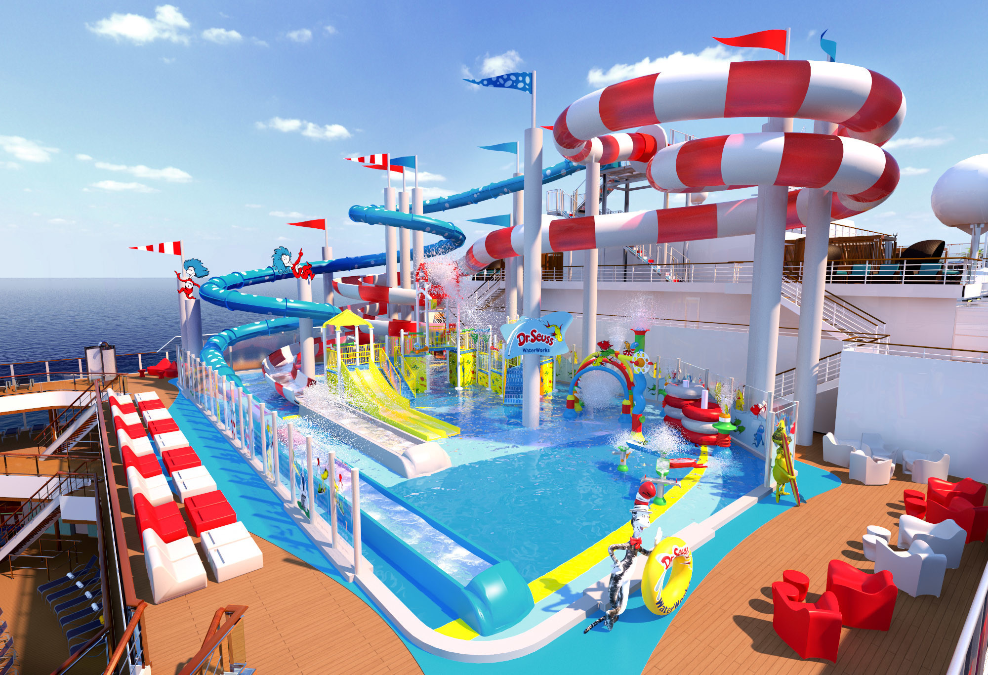Dr. Seuss-themed Water Park Coming To Carnival Horizon