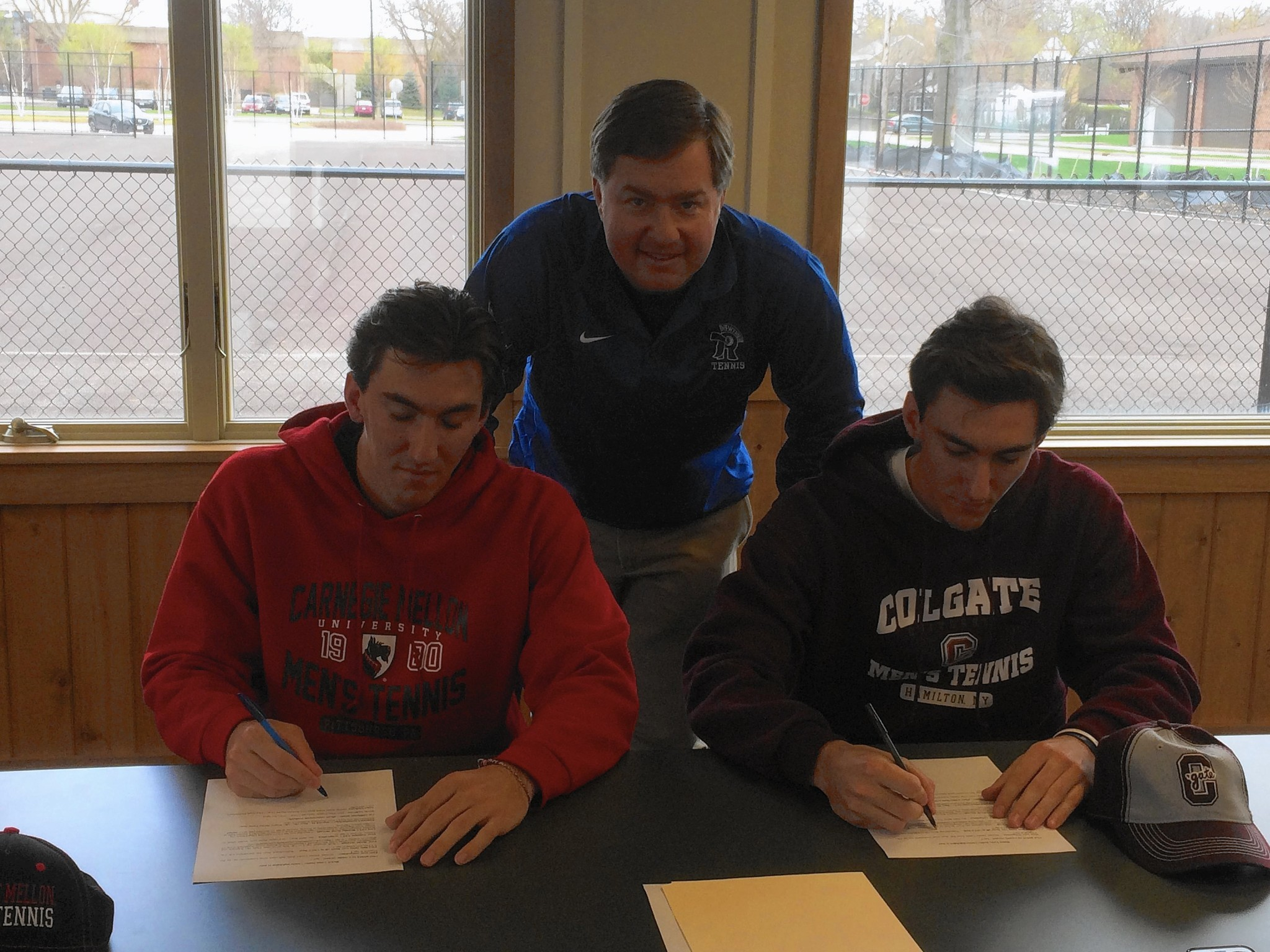 After Gap Year Bickel Twins Commit To College Tennis