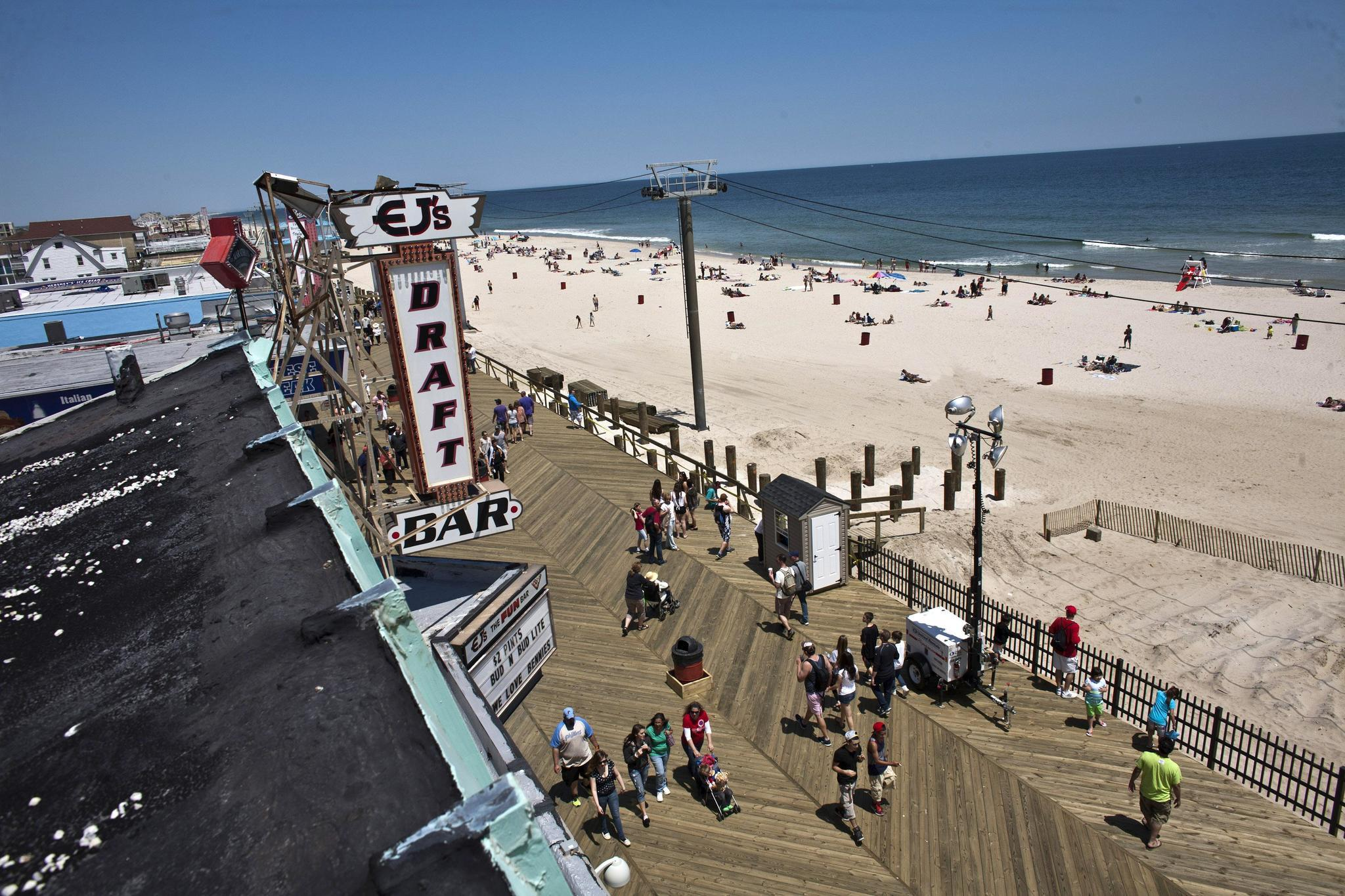 Paid Beach Access Extended As New Rules Aim To Clean Up Seaside Heights The Morning Call