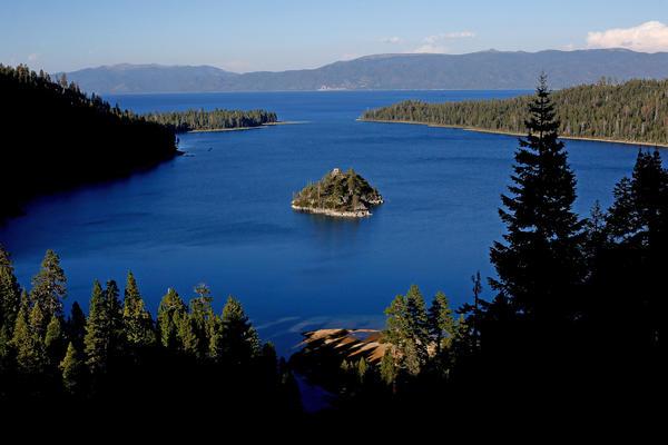 Emerald Bay in Lake Tahoe.