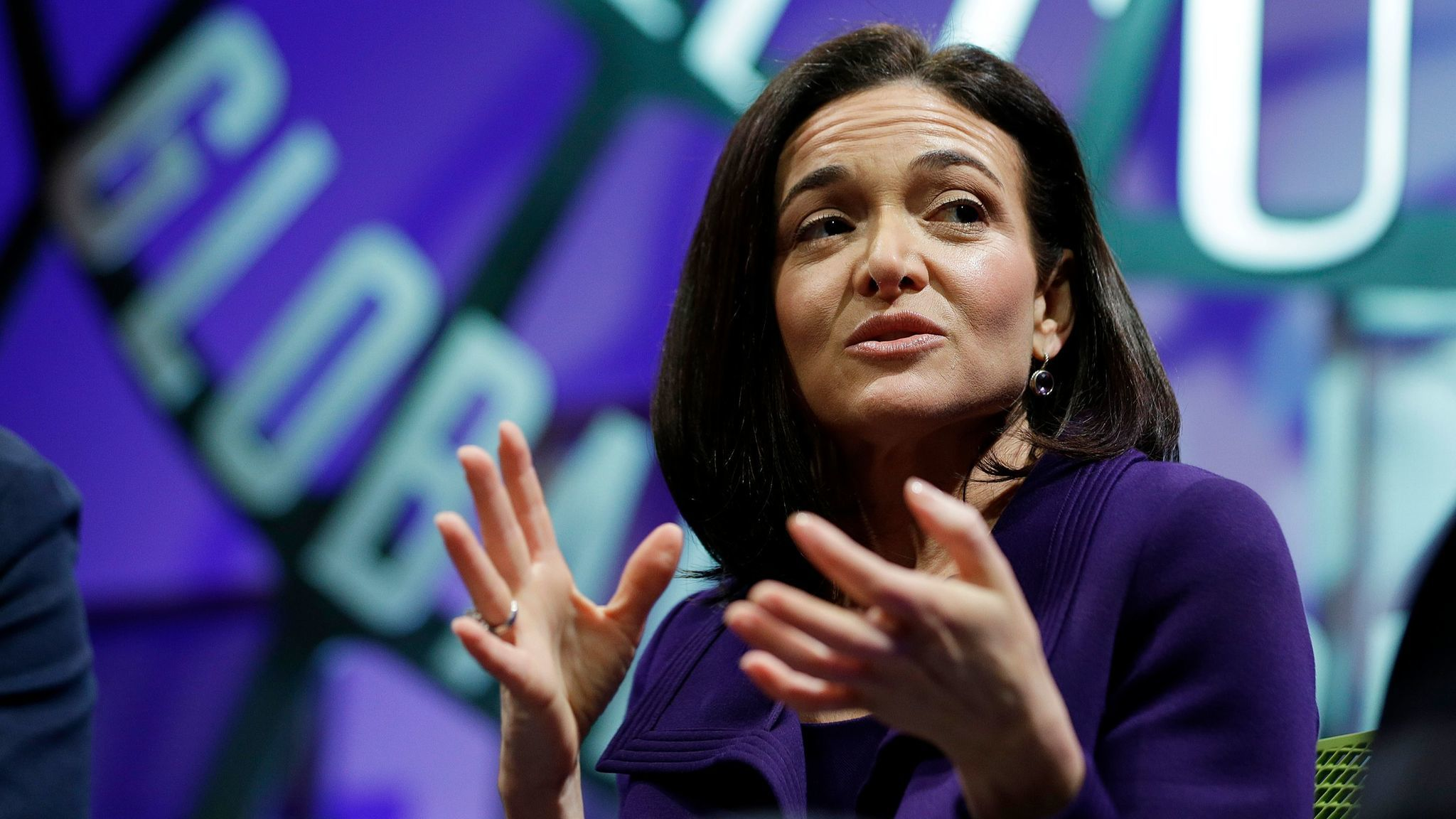 Sheryl Sandberg in 2015.