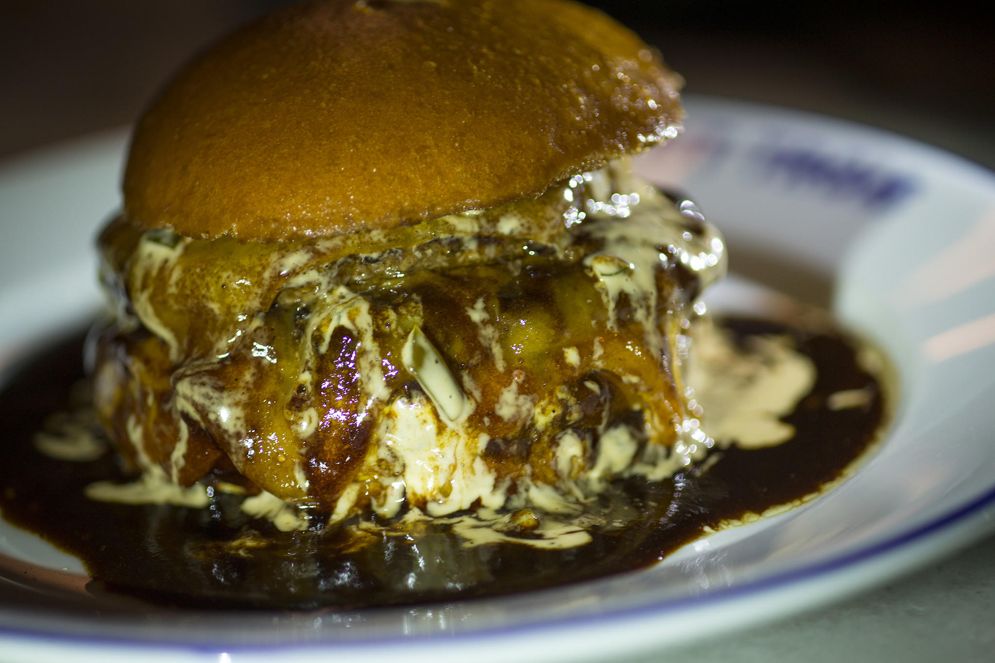 Chef April Bloomfield ordered the Bic Mec burger during her Burger Crawl stop at Petit Trois.