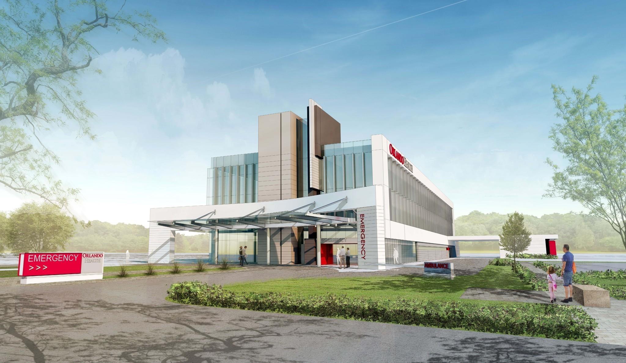 Orlando Health Plans New Er Near Kissimmee Orlando Sentinel