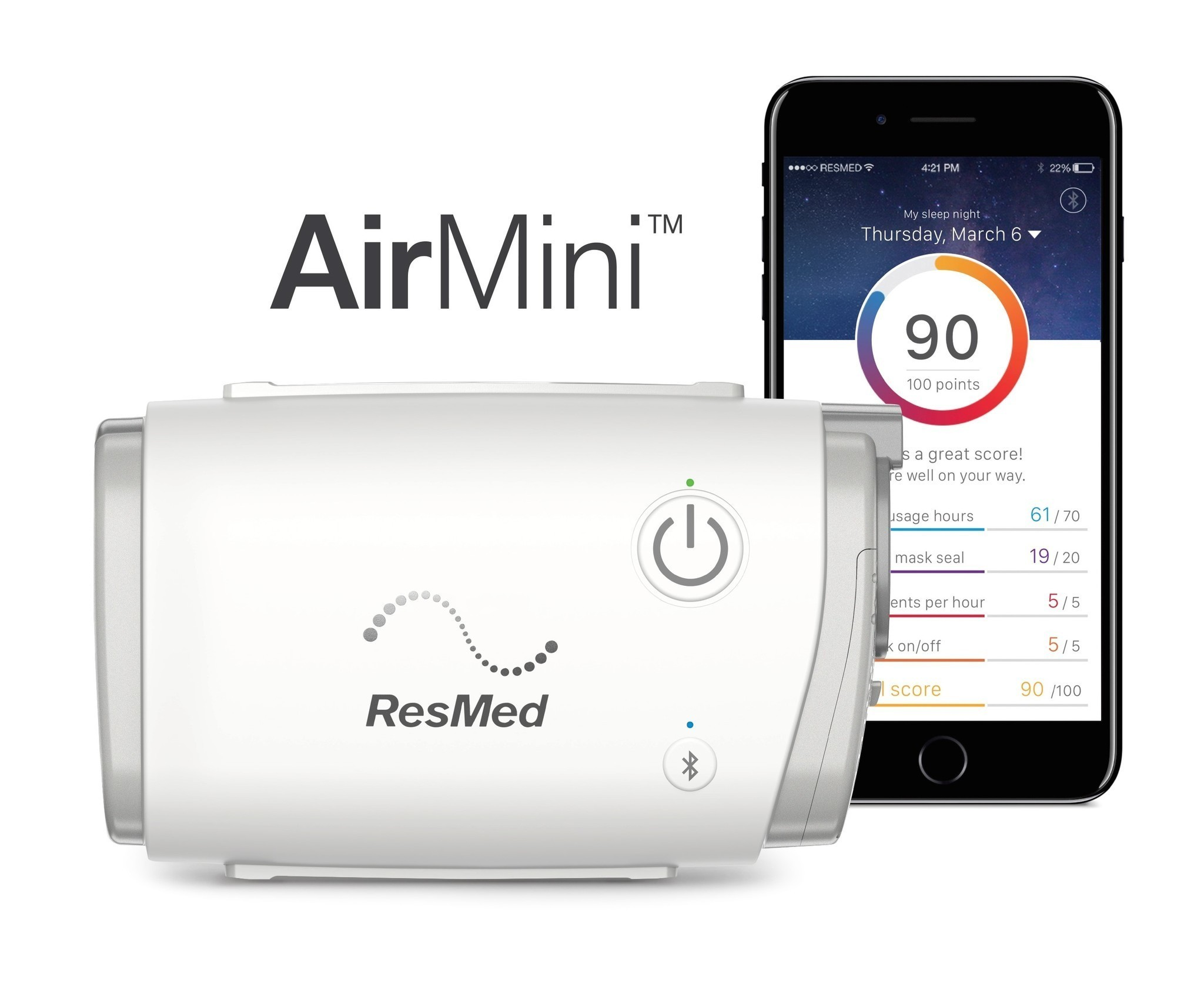 Resmed Unveils Travel Size Sleep Apnea Device For Road