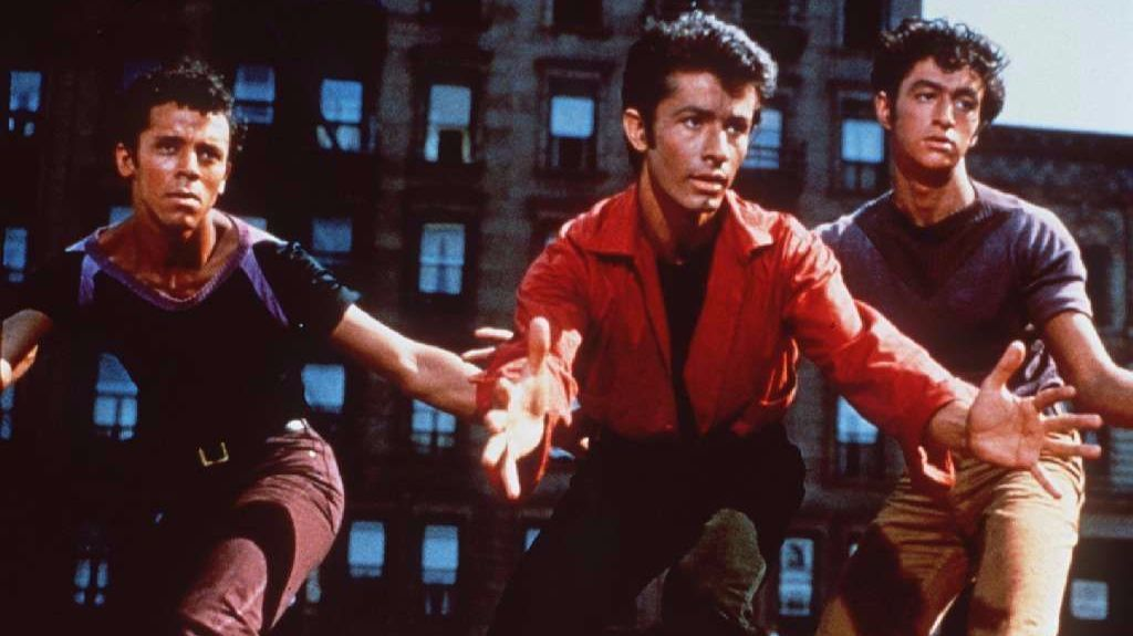 "A scene from the film ""West Side Story."""