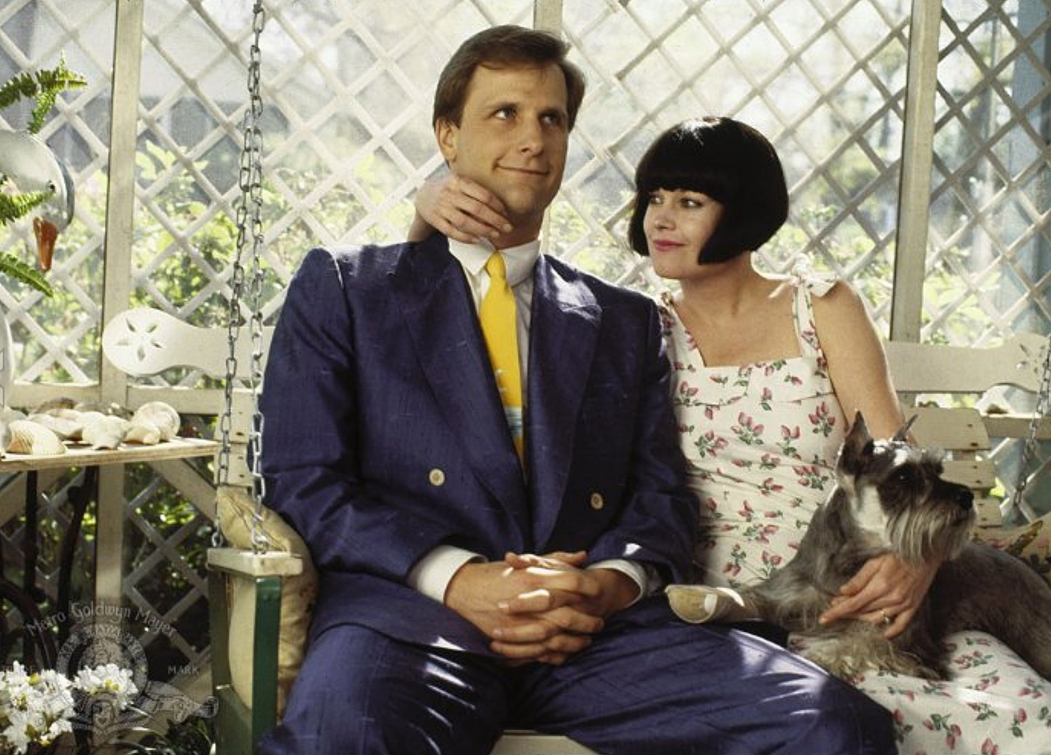 "Jeff Daniels and Melanie Griffith in ""Something Wild."""
