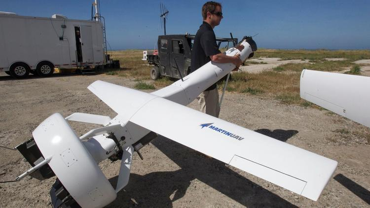 Image result for High-tech gadgets take to air, sea at Camp Pendleton