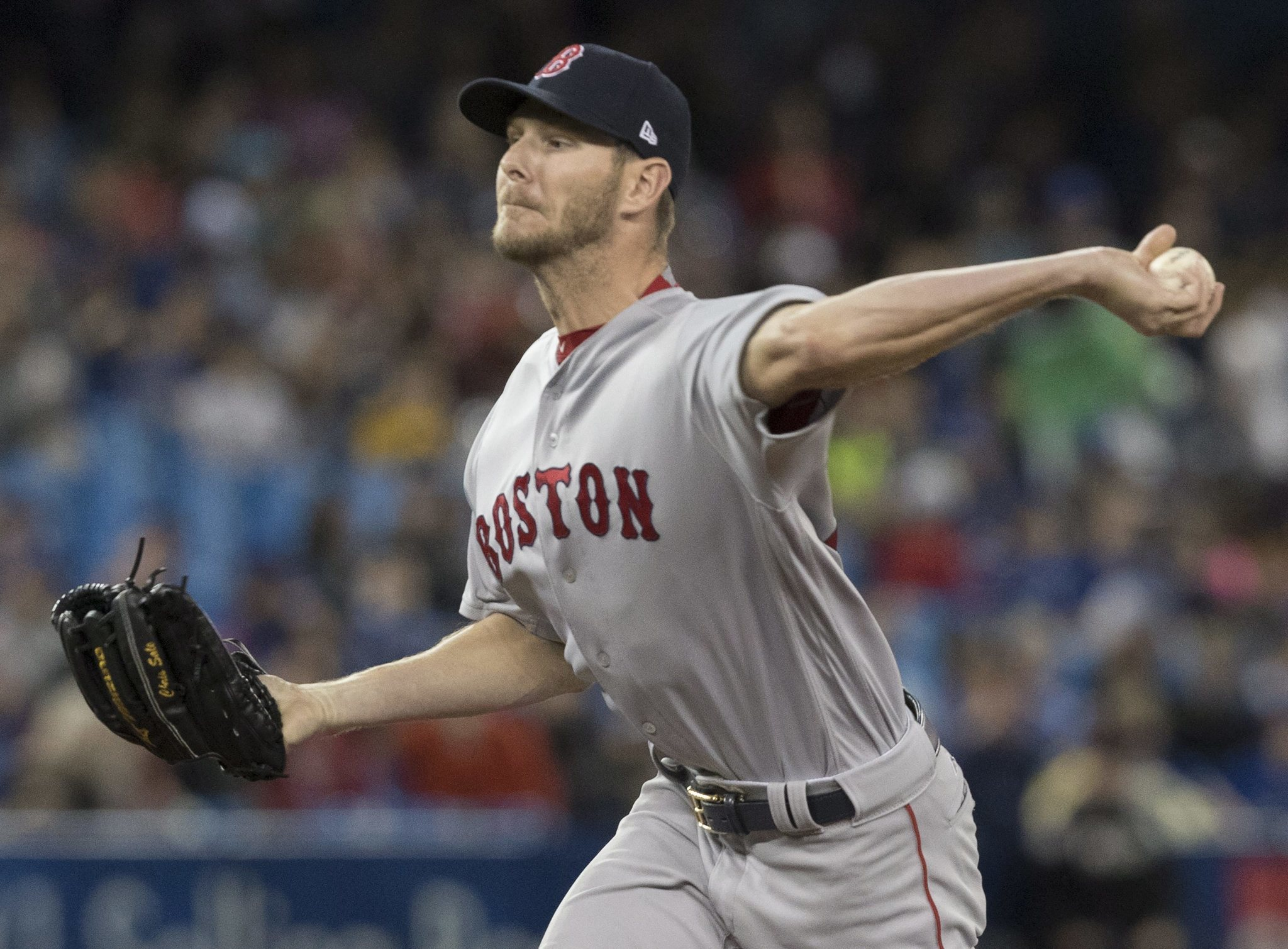 Former White Sox ace Chris Sale thriving in Boston as he ...